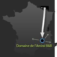 Kaart Frankrijk, Ardeche
